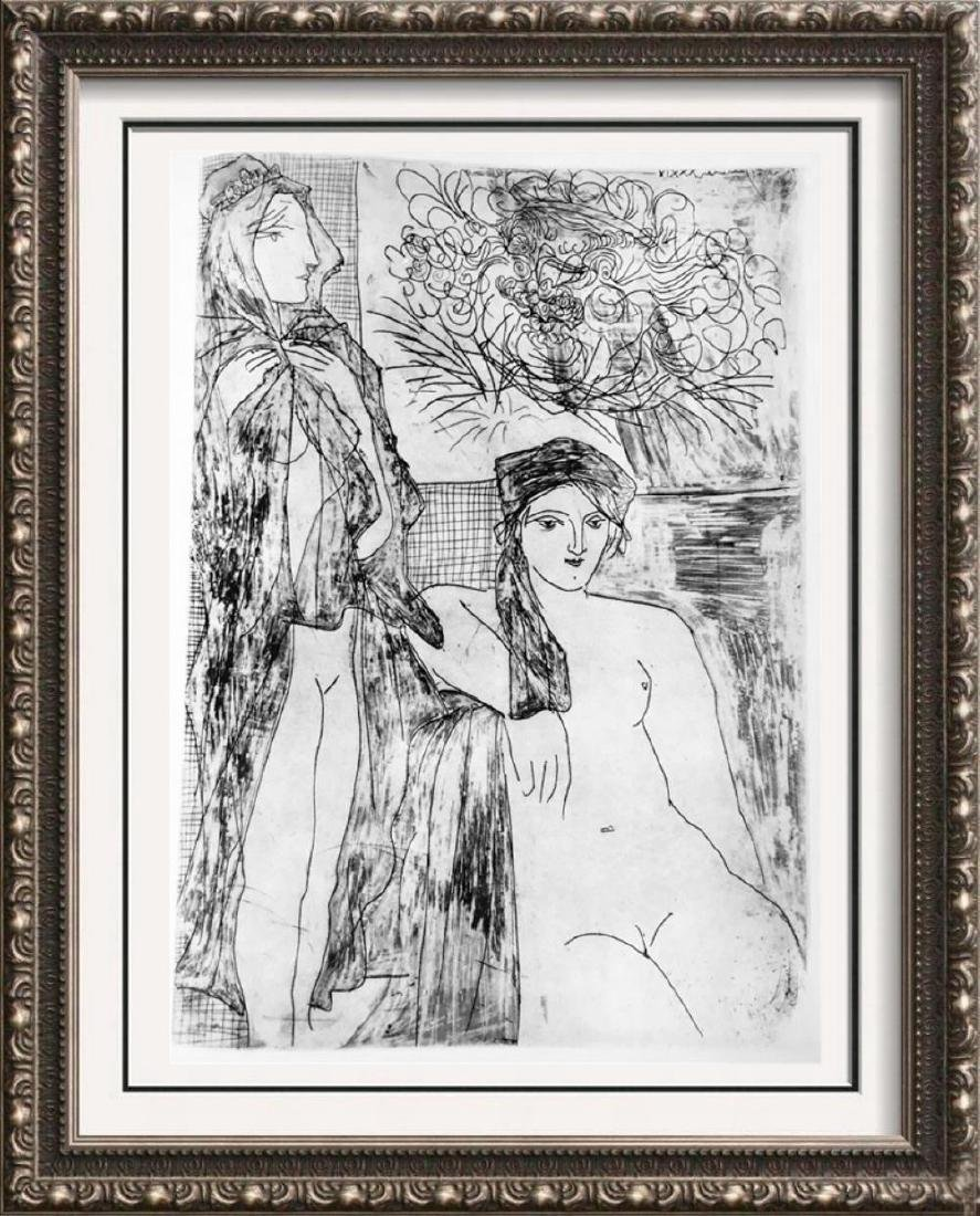 Pablo Picasso 'After'  Two Women and Self-Portrait of