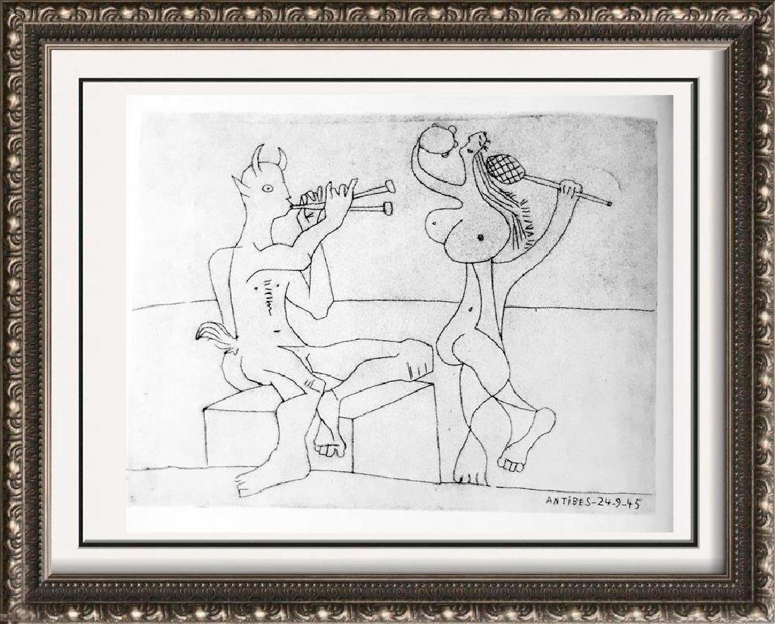 Pablo Picasso 'After'  Pan and a Dancer c. 1945 Fine