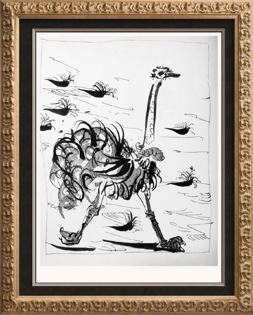 Pablo Picasso 'After'  Ostrich c. 1937 Fine Art Print