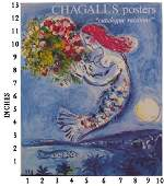 Art Book Liquidation Sale Marc Chagall  Posters