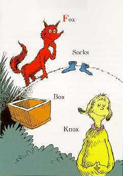 6053: Dr Seuss Fox in Sox Limited Edition Sale