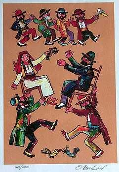 1516: Jovan Obican Jewish Mazinka Dance Wedding