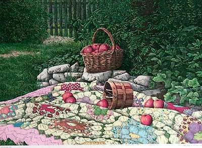 1658D: Picnic Basket Rios Style Country French Ltd Ed