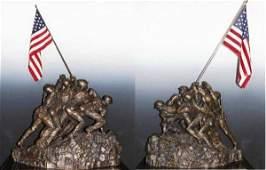 8760: Flag Raising on Iwo Jima Bronze Ltd Ed Sculpture