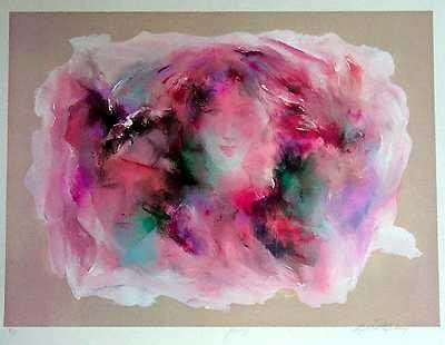 1734: Abstract Ltd Ed $375 Value - ONLY $25 Liquidation