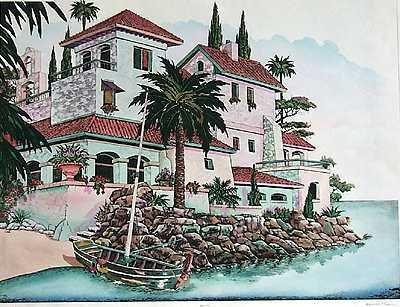 1822: Etching Ltd Ed Liquidation Estate Sale $900 Value