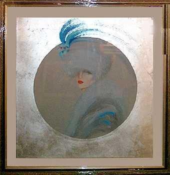 13: Montesinos Silver Leaf Signed Ltd Ed Rare Large Ser