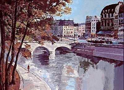 602: Mark King St Michel France Landscape Ltd Ed SALE