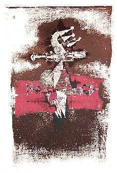 1142: Johnny Friedlander Museum Art Ltd Ed Etching Sign