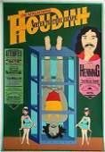6407D: Houdini RARE Vintage Lithographic Poster Estate