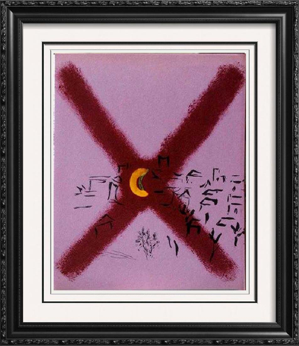 "Marc Chagall ""After"" Fantastic Original Lithograph"