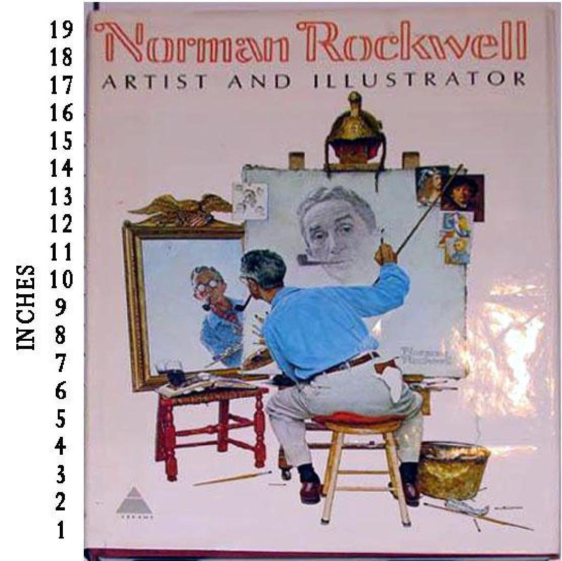 Dealer Liquidating Art Books Norman Rockwell Artist And