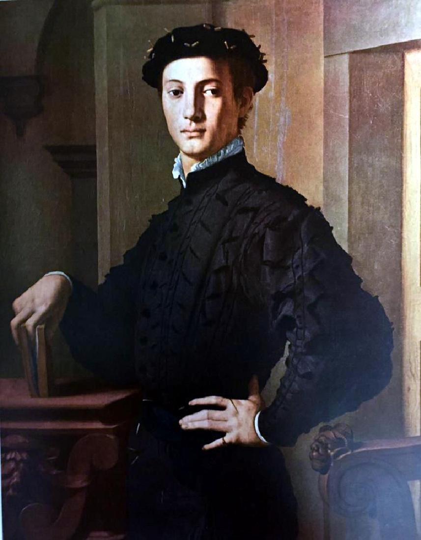 Masterpieces of Italian Paintings Bronzino: Portrait of - 2