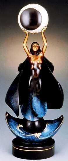 8841E: Jaques & Mary Regat Original Bronze Sculpture Sa