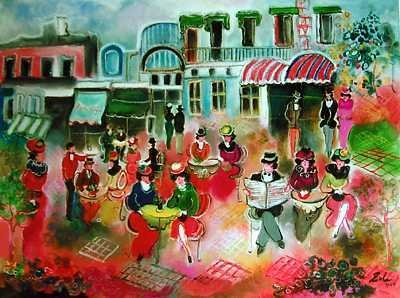 1298E: Zule Signed Giclee on Canvas Ltd Ed Rare Sale