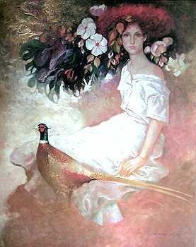 3000E: Peacock Mas Ltd Ed Hand Signed Ltd Ed