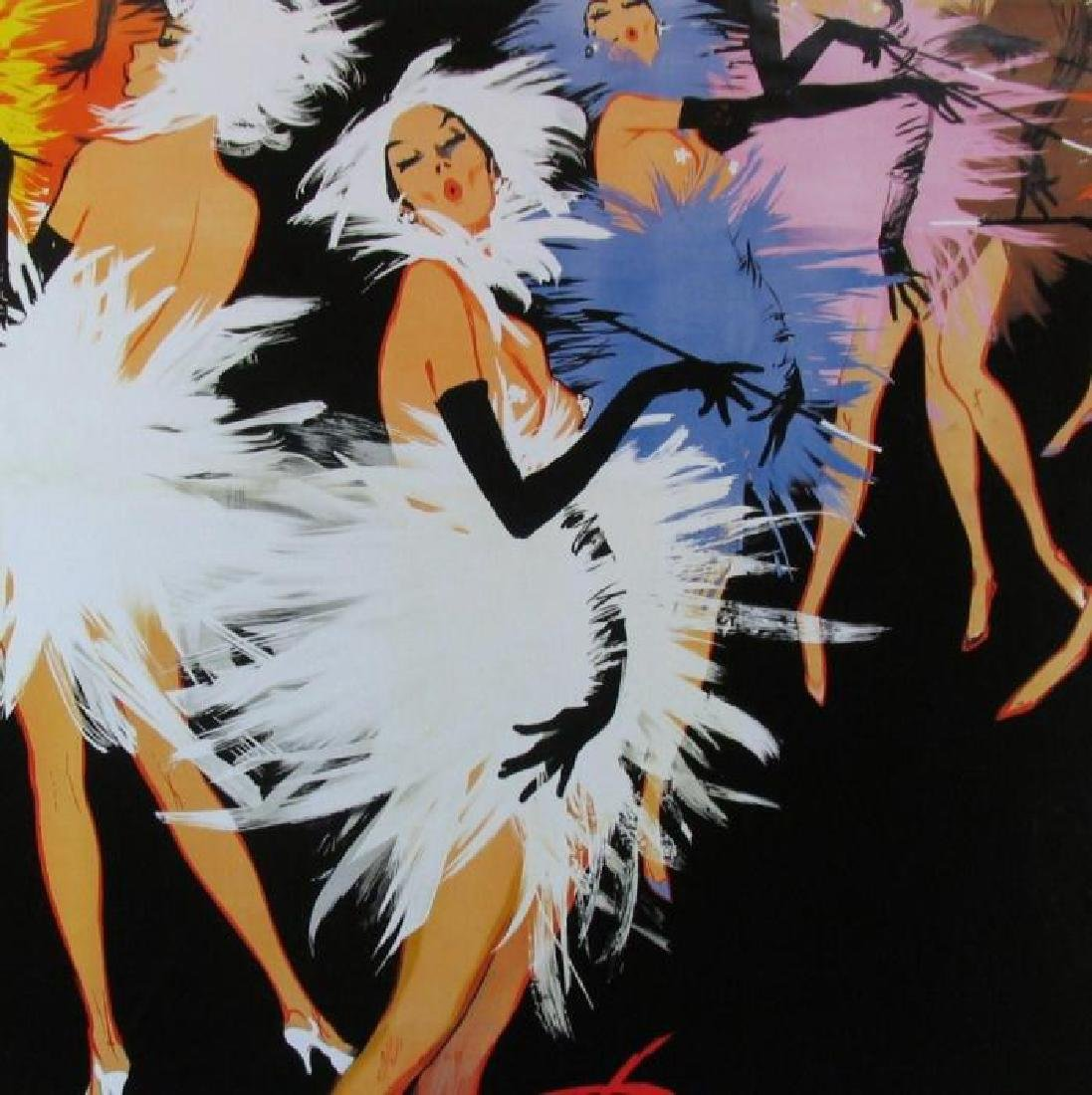 Old Lido Colorful Dance Poster Classic Only $10 - 3
