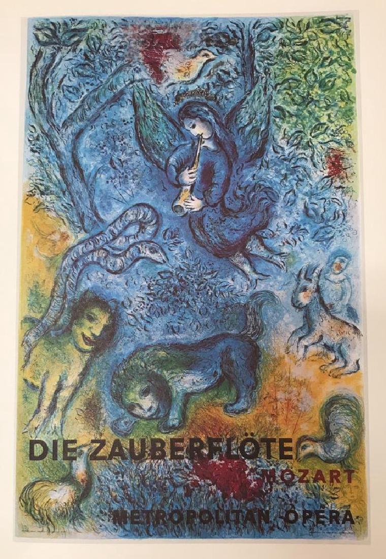 Marc Chagall The Magic Flute Fine Art Offset - 2