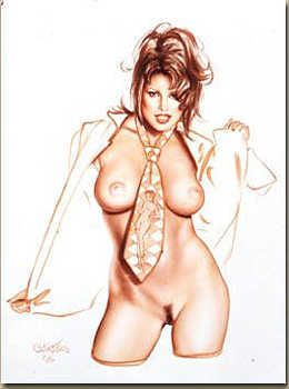3157: Olivia Nude Art Signed Limited Edition Wholesale