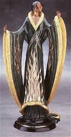 4389: Bronze Ltd Ed Sculpture Erte RARE Liquidation Sol