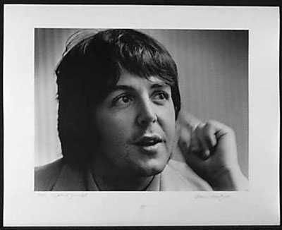 050977B: Beatles RARE Paul McCartney 1968 Original Phot