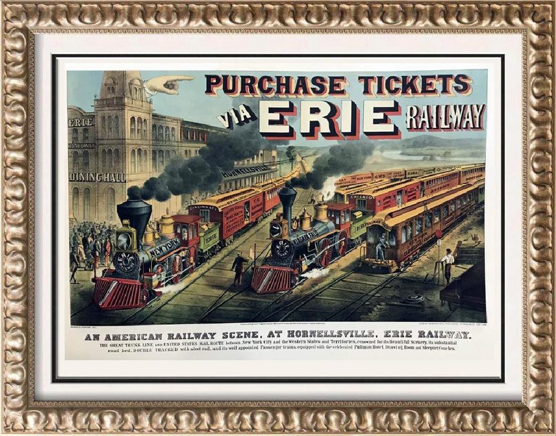 Roy King c.1987 An American Railway Scene At
