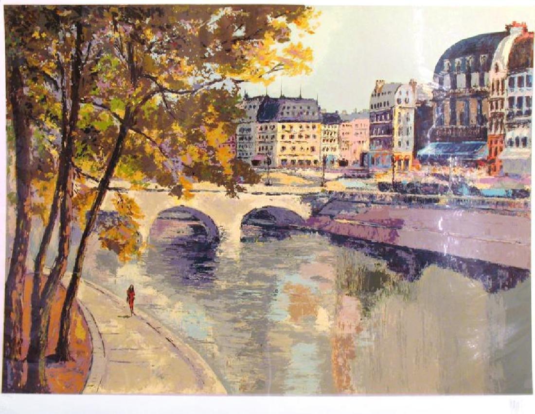 Mark King St Michel France Landscape Ltd Ed Sale