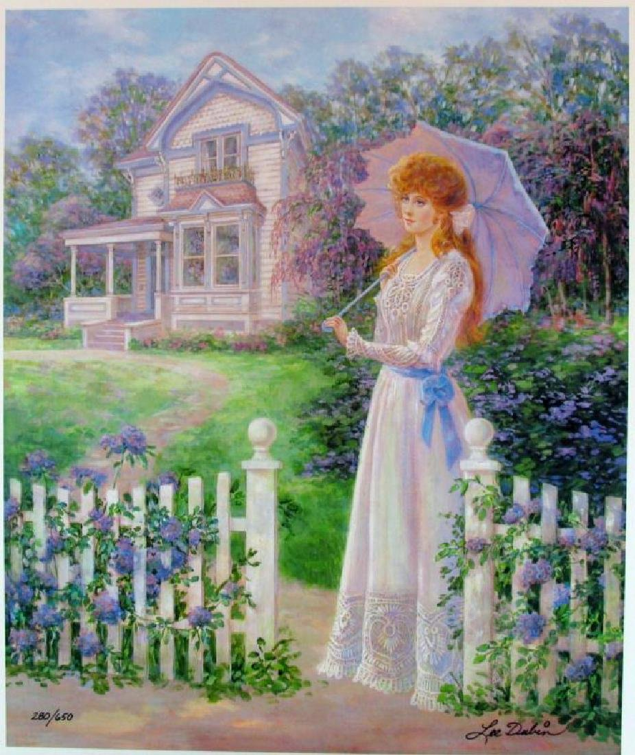 Victorian Home Impressionism Colorful Ltd Ed Sale