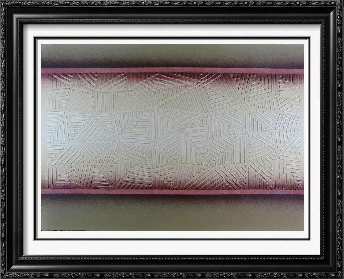 Paul Maxwell Limited Edition Dimensional Art Paper