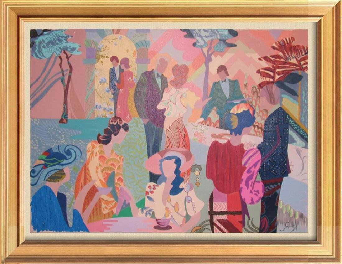 Antonio Sereix Matinee Original Painting on Canvas