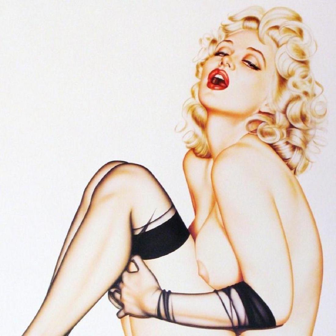 Sugar Puss Pin Up Olivia Signed Ltd Ed Nude Litho - 3