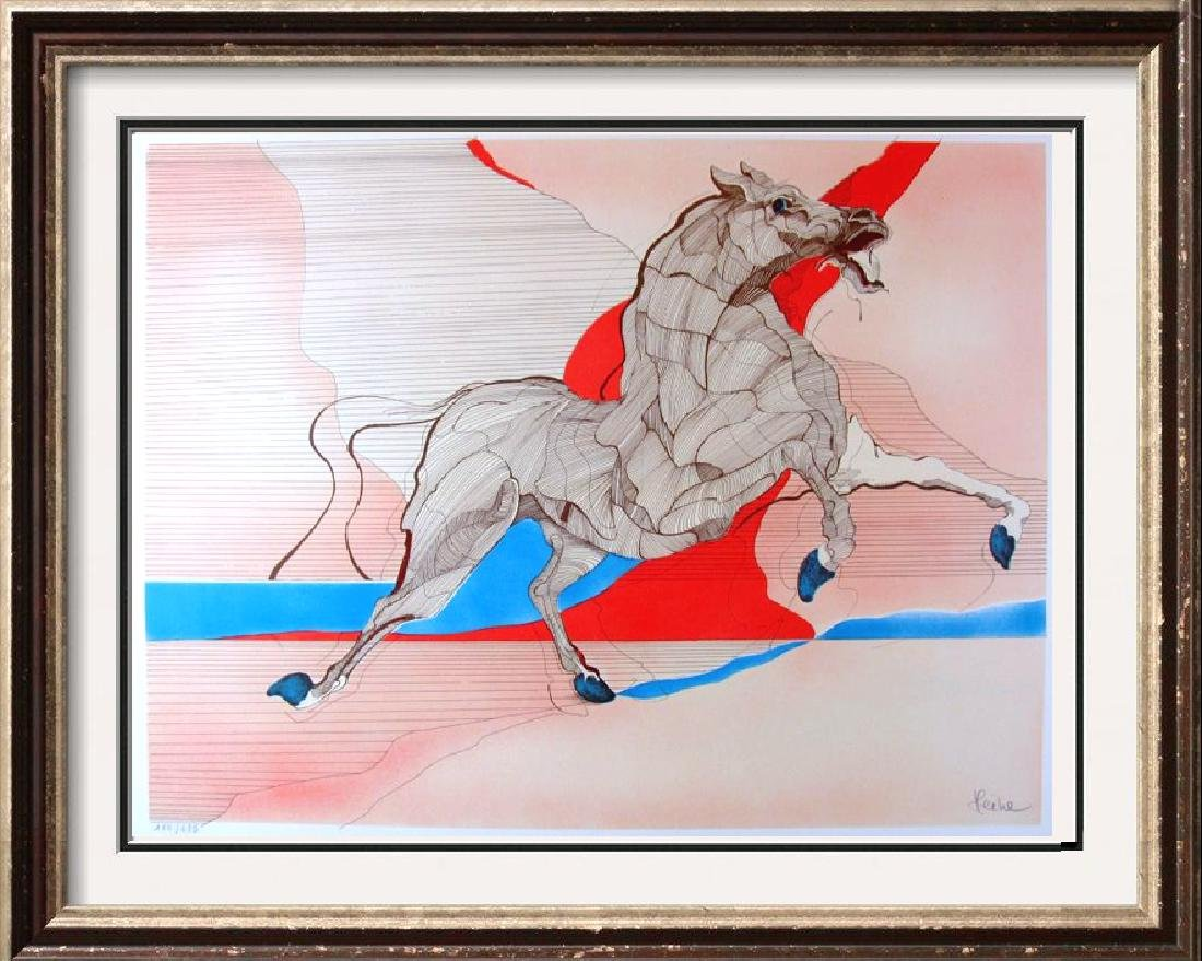 """Azoulay """"Style"""" Horse Signed Limited Edition Fantastic"""