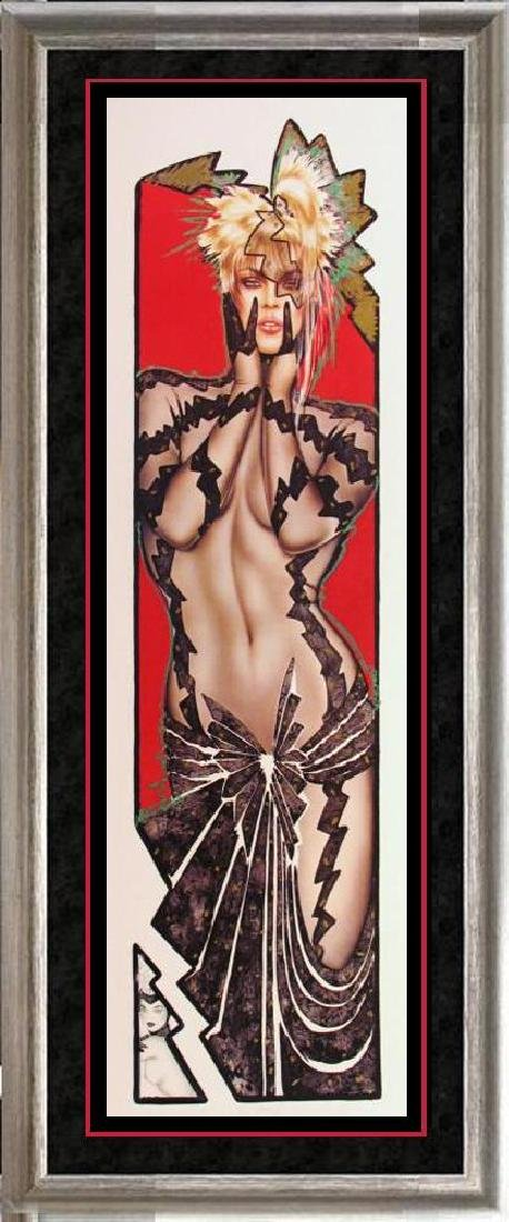 Playboy Edition Olivia Rare Litho Hand Signed Sale