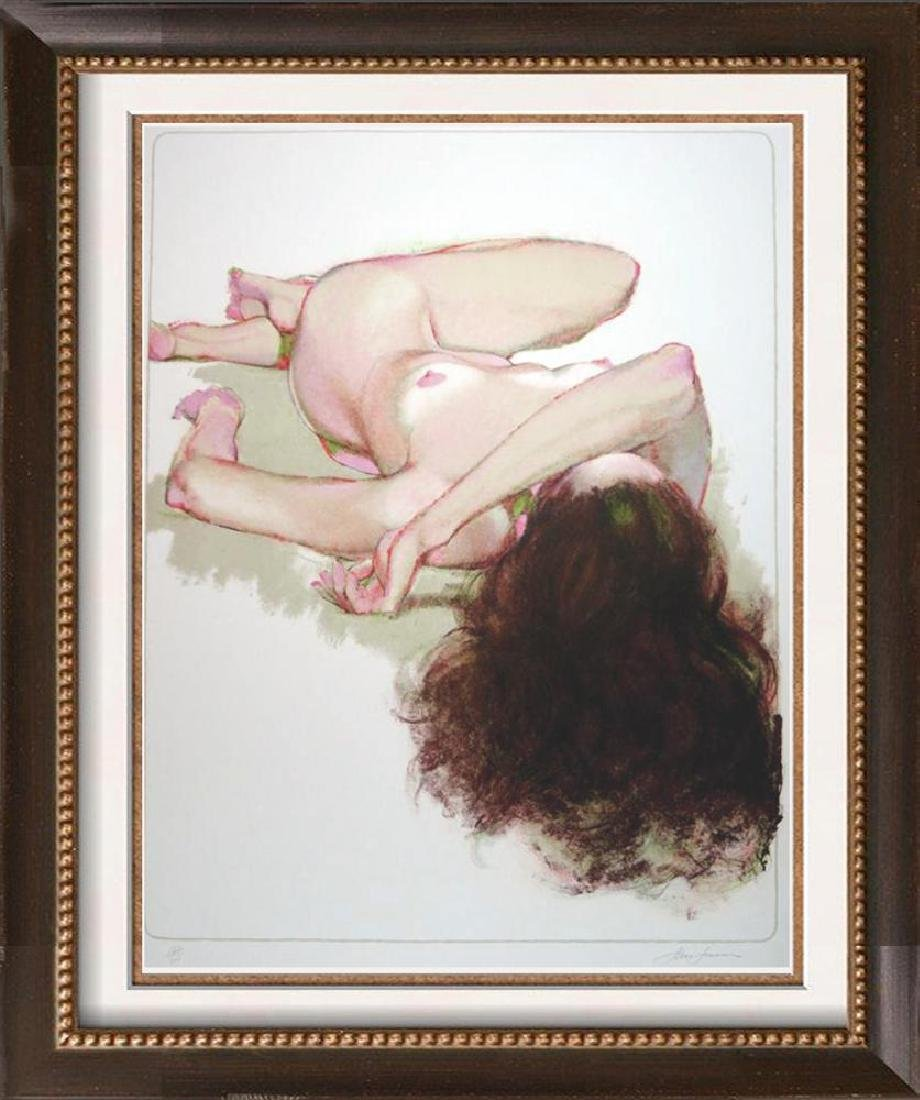 Nude Reclining Signed Limited Edition Litho in