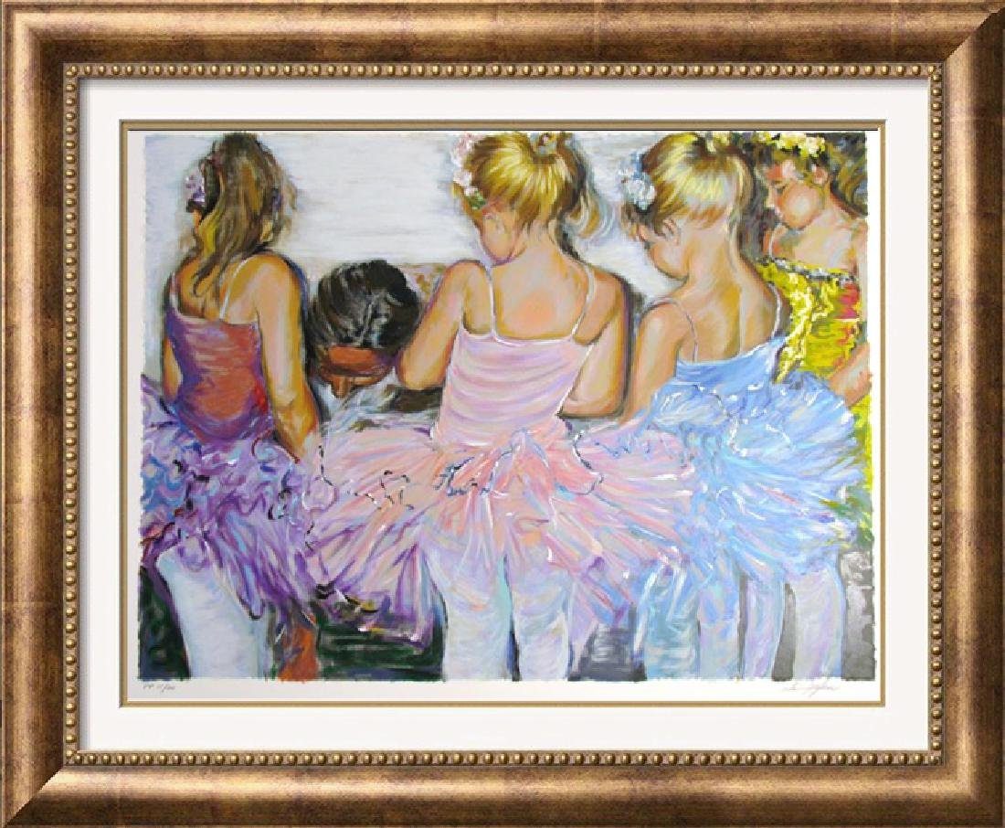 BALLERINA LIMITED EDITION SIGNED LITTLE GIRLS RARE