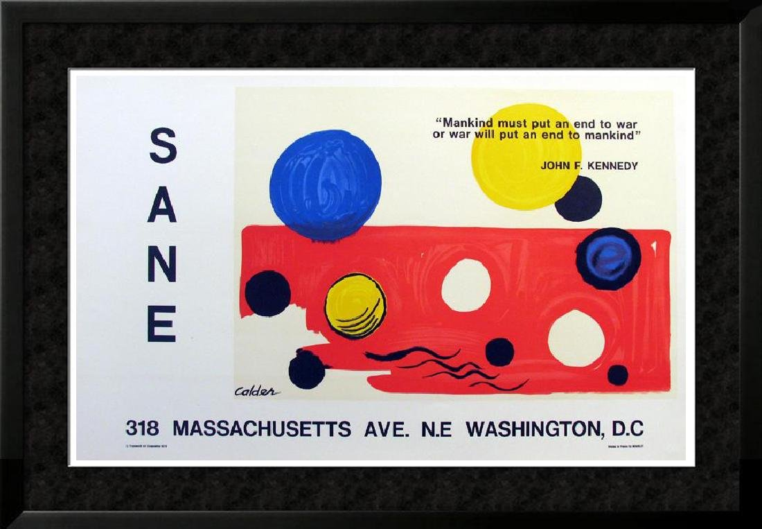 Alexander Calder Original Lithograph Rare Buy