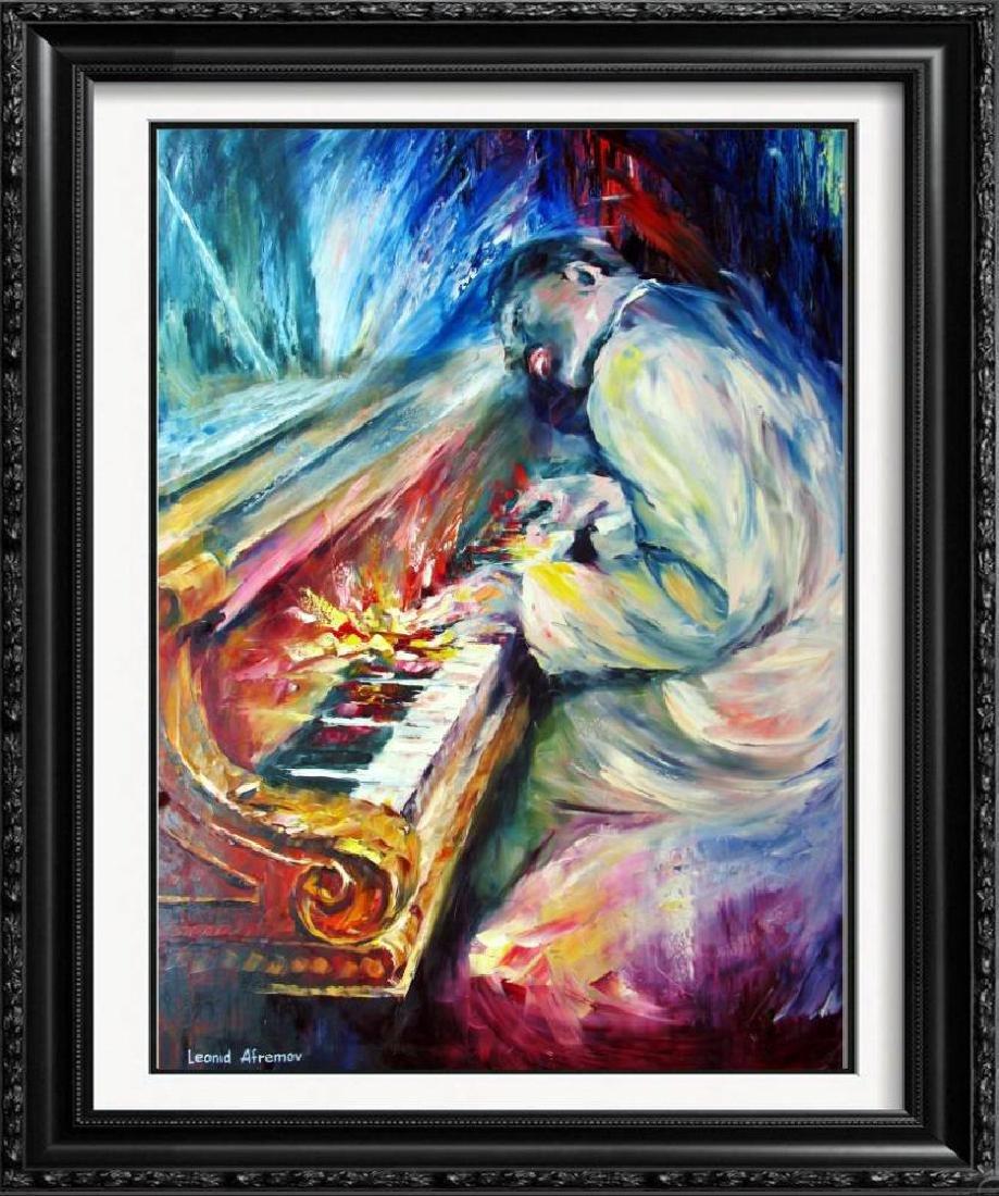 Errol Garner Painting On Canvas Piano Abstract Original