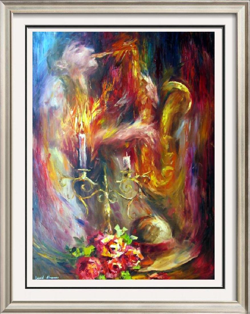 Painting On Canvas Musical Theme Abstract Textured Sale