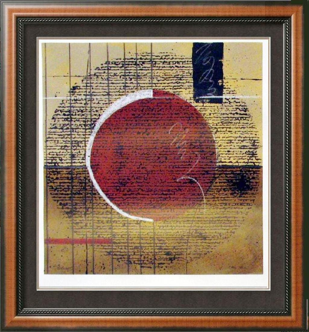 Abstract Modern Art Original Painting Signed Chris Hill