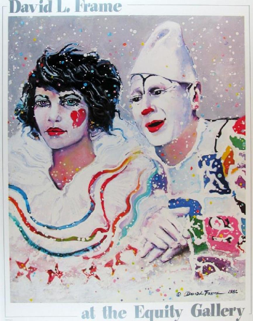 Clowns Offset Litho Colorful