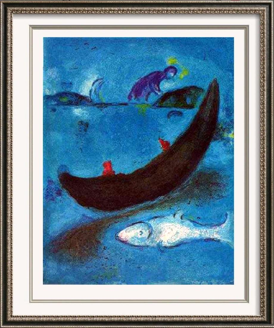 BIBLICAL MARC CHAGALL JONAH & THE WHALE ORIGINAL