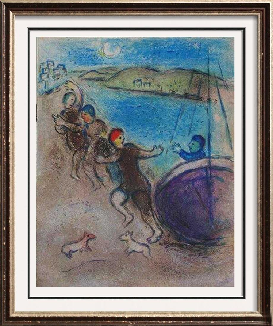 "Marc Chagall ""After"" Low Price Colored Lithograph Sale"