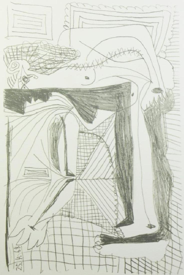 PICASSO PORTRAIT ABSTRACT LINE DRAWING