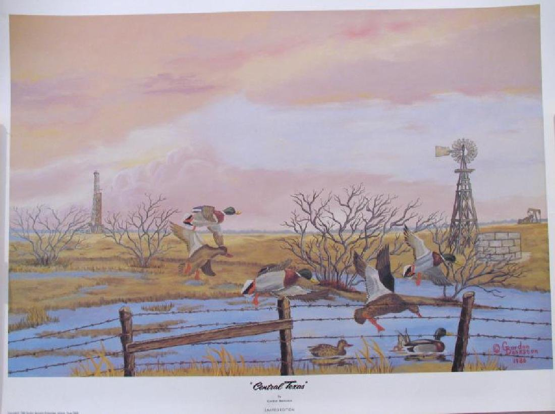 Bankston Central Texas Limited Edition Lithograph Ducks