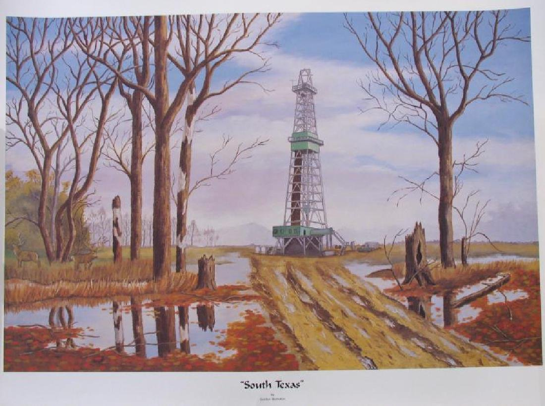 Bankston South Texas Limited Edition Lithograph