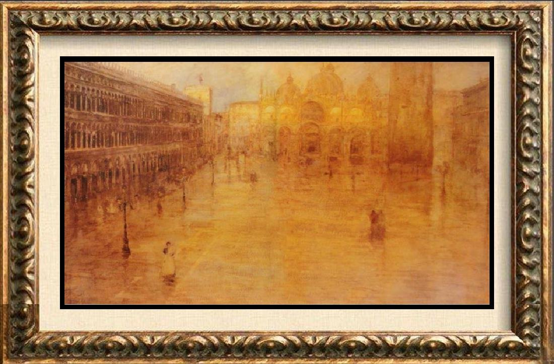 Ancient City Giclee on Canvas