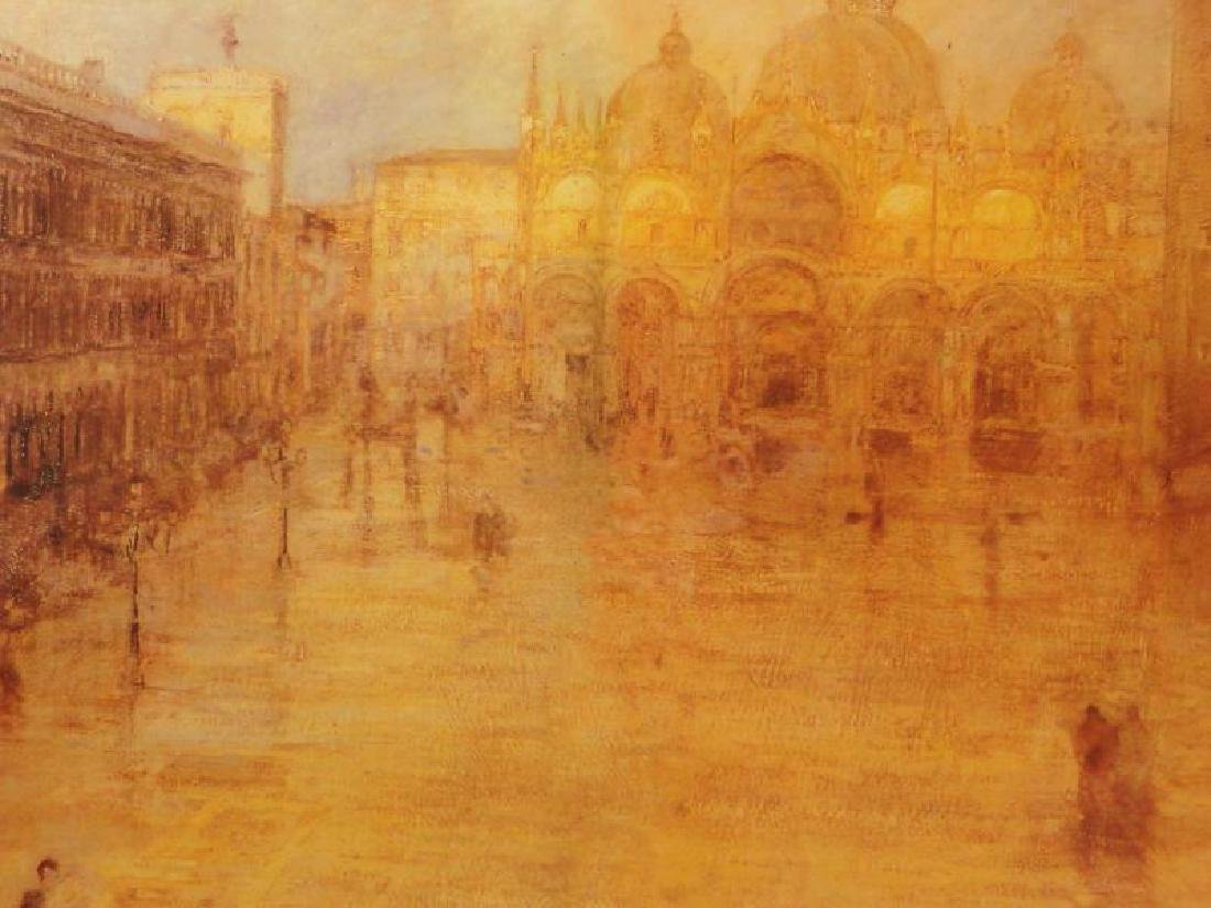 Ancient City Giclee on Canvas - 2