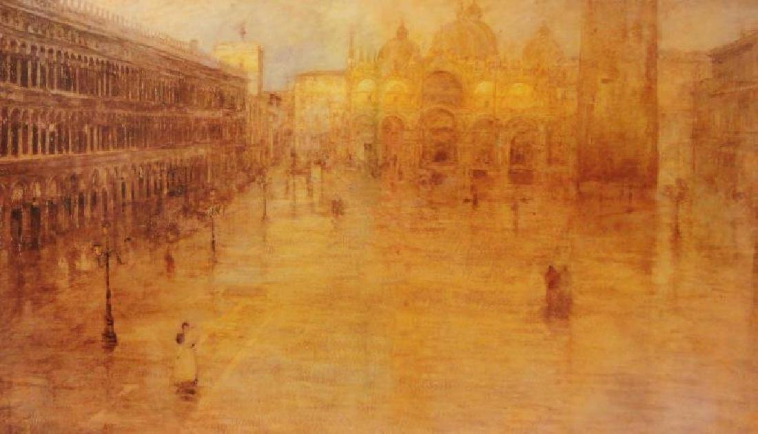 Ancient City Giclee on Canvas - 3