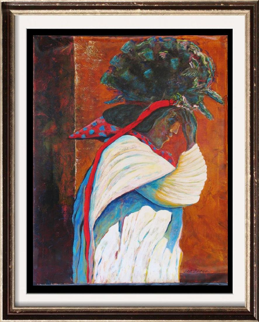 Headdress Native Abstract Texture Gaylord Rare Sale