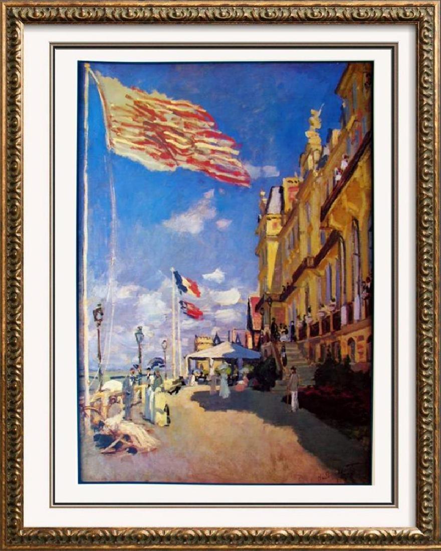 Claude Monet Impressionism Hotel Des Roches Noires,